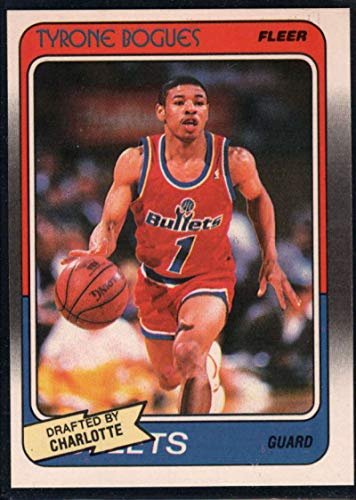 Basketball NBA 1988-89 Fleer #13 Muggsy Bogues RC Hornets