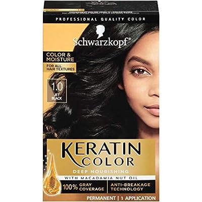 Schwarzkopf Keratin Color, Color & Moisture Permanent Hair Color Cream
