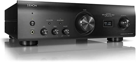 Denon PMA-1600NE Stereo Integrated Amplifier | Up to 140W x 2 Channels | Built-In DAC and Phono Pre-Amp | With Type-B USB Input for High-Res PCM Files | Analog Mode | Advanced Ultra High Current Power