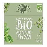 Elephant Bio Infusion Menthe Thym 20 Sachets 26g