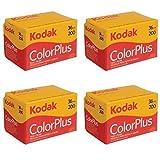 4 Rollen Kodak Colorplus 200 ASA 36 Belichtung
