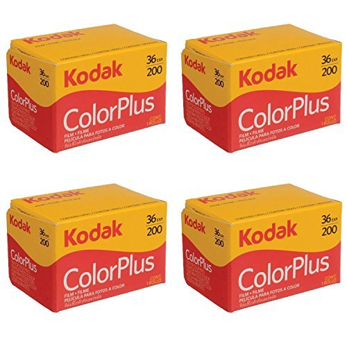 4 Rolls of Kodak Colorplus 200 ASA 36 Exposure