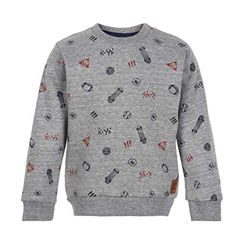 MINYMO Sweatshirt Allover Print 086