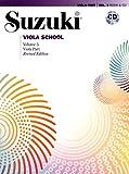Suzuki Viola School, Volume 3 (Revised): Viola Part, Book & CD