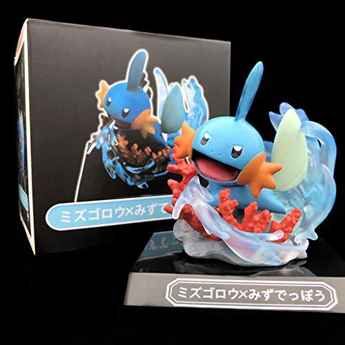 PY Interruptor de Decoraciones de Regalo animación Pokemon Figura de acción Marshtomp Batalla Hecho a Mano Modelo Popular de Dibujos Animados Toy 3DS Pokemon NDS de Ordenadores Manga muñeca Adornos