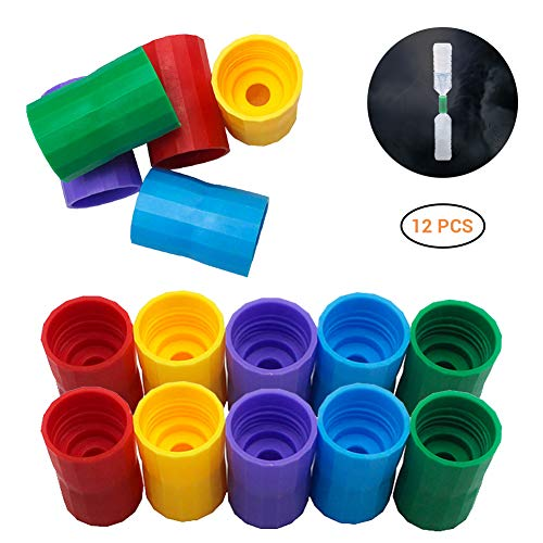 15pcs Flaschentornado Bottle Connectors Tornado Connector Cyclone Tube Flaschenanschlüsse Vortex Bottle Connector Novelty Tornado Maker Science Toy for Scientific Experiment and Test