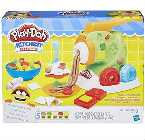 Generic Official Playdoh Kitchen Creations Noodle Makin Mania *NEW*