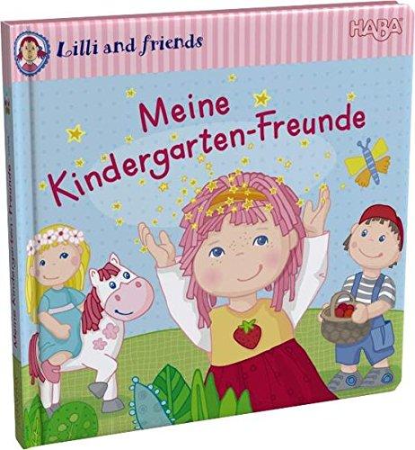 Haba 300198 - Freundebuch: Lilli and friends, Meine Kindergarten-Freunde