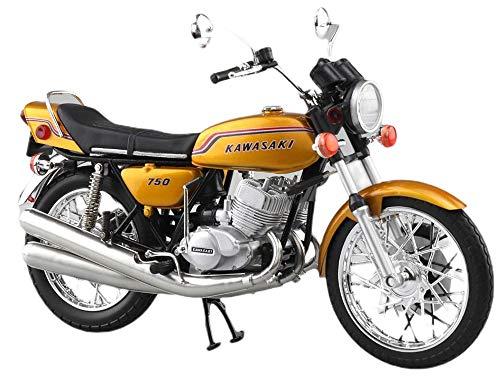 1/12 完成品バイク KAWASAKI 750SS MACH IV(ヨーロッパ仕様) [キャンディーゴールド]