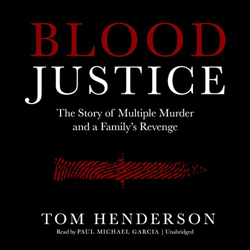 Blood Justice audiobook cover art