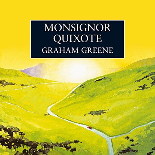 Monsignor Quixote audiobook cover art
