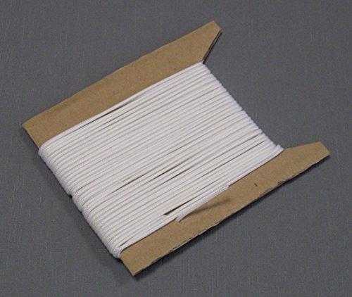 ps FASTFIX 10 Meter Jalousieschnur (weiß) für Jalousien mit 25 mm Lamellen - Zugschnur auf Pappe gewickelt