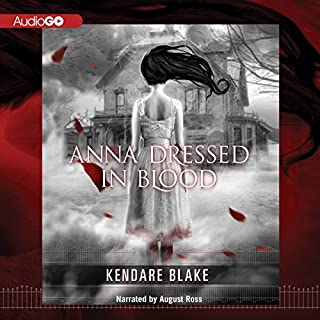 Anna Dressed in Blood audiobook cover art