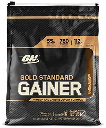 Optimum Nutrition Gold Standard Gainer 3,25 kg Erdbeer Shake