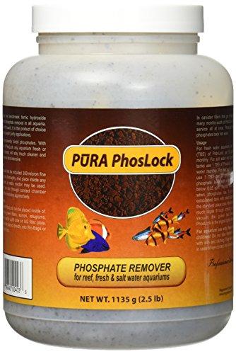 Pura (Magnavore) APU00403 Phoslock Aquarium Filter Media for 2500-Gallon Tank, 1135gm