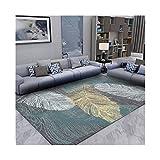 CHENTAOCS Northern European Einfaches modernes Wohnzimmer Teppich, Sofa Couchtisch-Matten-Bett Side Decke Schlafzimmer Vollautomat Wasch Haushaltsteppich (Color : 01, Size : 1600MM×2300MM)