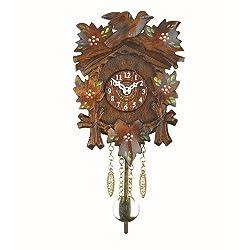 Trenkle Kuckulino Black Forest Clock with Quartz Movement and Cuckoo Chime TU 2016 PQ
