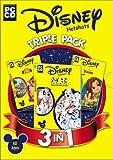 Disney Triple Pack (101 Dalmatians, The Lion King, Tarzan) -