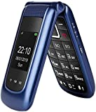 Uleway Unlocked Flip Phone 3G Dual SIM Card 2.4'' Flip Cell Phones Unlocked