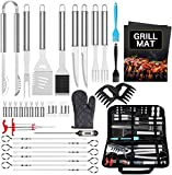 BBQ Grill Accessories BBQ Tools Set, AISITIN 35 PCS BBQ Grilling Accessories, Stainless