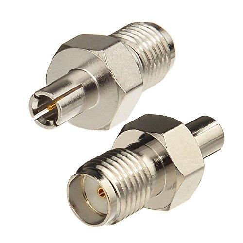 Eightwood 4G LTE Antenne Adapter TS9 Adapter auf SMA Buchse 2 Stücke für Netgear AC785 Hsdpa Huawei 2G 3G 4G LTE Antenne UMTS Mobile Broadband MEHRWEG