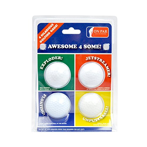 Second Chance Die witzigen 4 Golf-Spielbälle