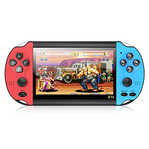 Handheld Games Console,Retro Video Game Player with Built-in 10,000 Classic Games,4.3-inch LCD Screen,Rechargeable Game Player Gift for Kids and Adults