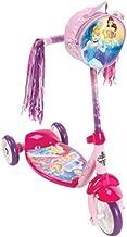 Huffy Girls' Disney Princess 3 Wheel Preschool Scooter, Pink