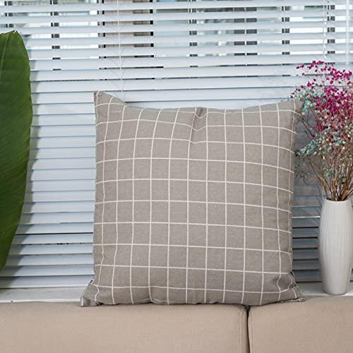 KLily Stampa Fronte-Retro Semplice Decorativo Federa per Cuscino per Divano Cuscino per Grata Federa per Ufficio Cuscino per Seduta in Cotone Lavabile