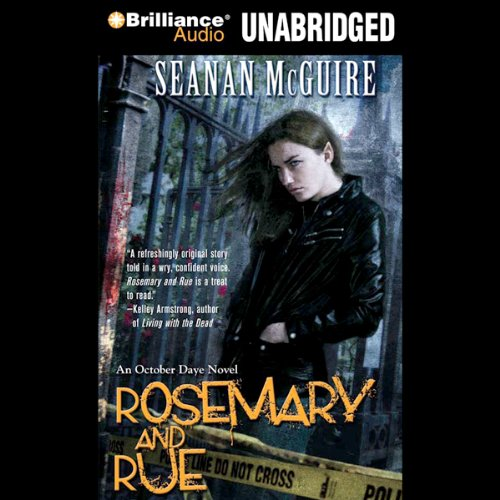 Rosemary and Rue audiobook cover art