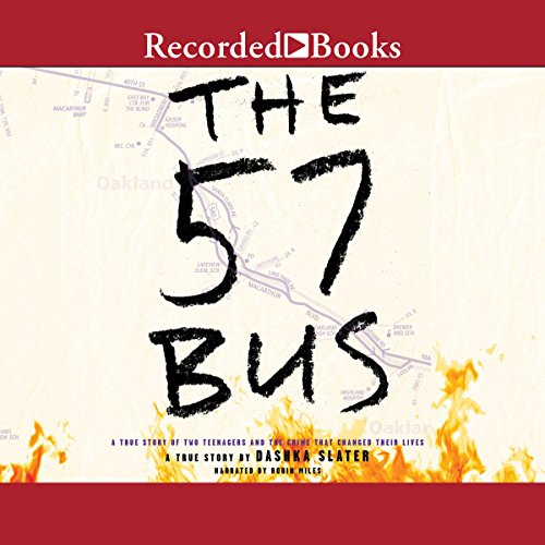 The 57 Bus audiobook cover art