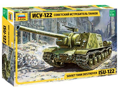 Zvezda 500783534 - 1:35 ISU-122 (RR) Panzer