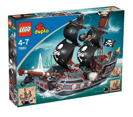 Lego Duplo 7880 - Piraten großes Piratenschiff Herrscher der Meere