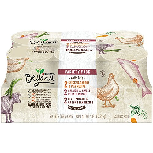 Purina Beyond Grain-Free Ground Entrees Adult Wet Dog Food Variety Pack