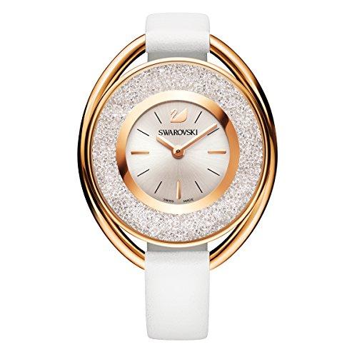 Swarovski Crystalline Oval White Tone Uhr