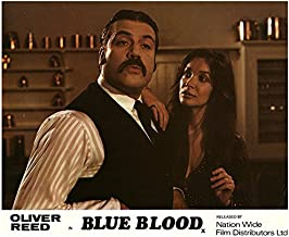 Blue Blood Original Lobby Card Oliver Reed Fiona Lewis Anna Gael 1974