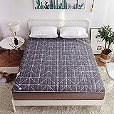 JYLJL - Colchones de futón para el suelo, colchoneta de tatami plegable (color: E, tamaño: 150 x 200 cm)