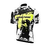 BurningBikewear Uglyfrog 2018 Deportes Al Aire Libre Hombres Primavera/Verano Respirable De Manga Corto Jersey Ciclismo Triatlón Ropa Bicicleta Maillots DXMZ11F