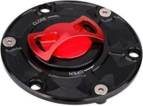 AnXin Motorcycle Gas Fuel Tank Cover Twist off CNC Aluminum Billet Keyless Cap For KTM Super Duke990 Duke990R Adventure990 Adventure950 ALL YEAR