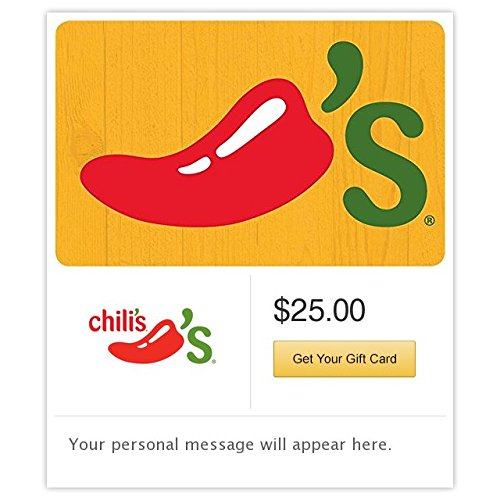 Chili's Grill & Bar Yellow Email Gift Card