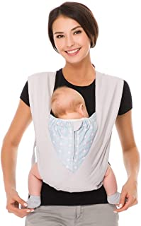 Babytrage für Neugeborene bis 3 Jahr Ergonomische Babytragetasche Bauchtrage bun