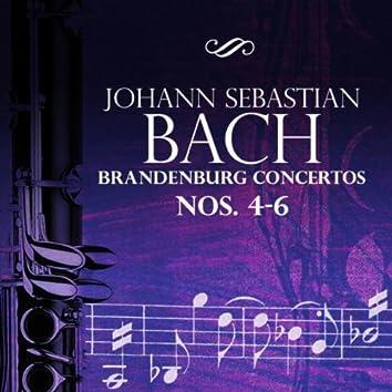 Johann Sebastian Bach: Brandenburg Concertos Nos. 4-6