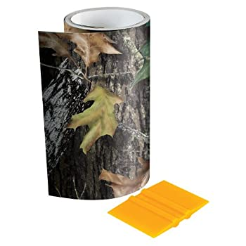 Mossy Oak - 14003-7-BU Graphics 6  x 7  Break-Up Camouflage Tape Roll - Camo Vinyl with a Matte Finish - Ideal for Covering Guns Bows Cameras and Other Hunting Accessories Squeegee Included.