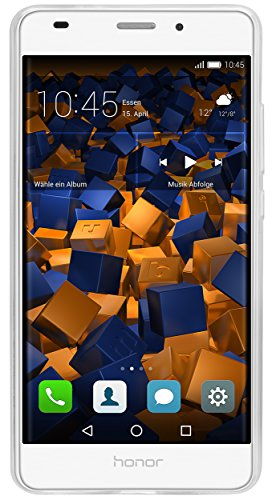mumbi Hülle kompatibel mit Honor 5C Handy Case Handyhülle mit Motiv Pusteblume, transparent - 4