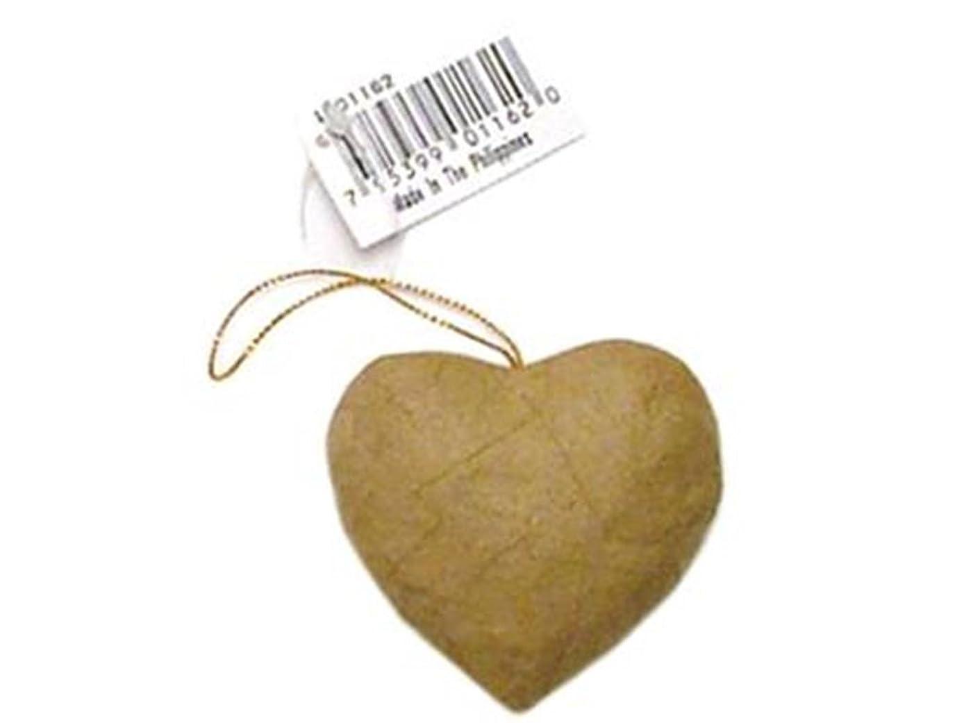 Craft Pedlars Craft Ped Paper Mache Ornament Puffy Heart Kraft