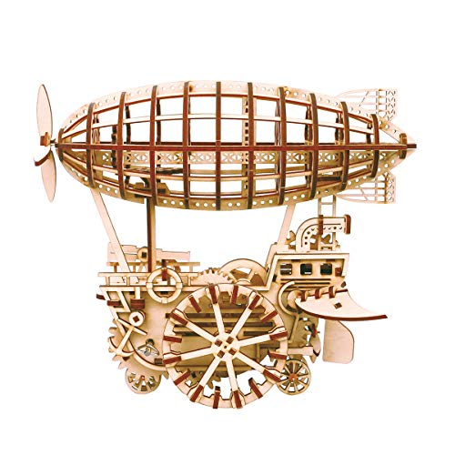ROKR 3D Wooden Puzzle Mechanical Self-Assembly Moving...