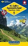 Wanderkarte St. Gallen - Appenzeller Land 1 : 60 000 (Kümmerly+Frey Wanderkarten)