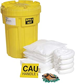 SpillTech Oil-Only Overpack Salvage Drum Spill Kit, 30 Gallon, 47 Pieces (SPKO-30)