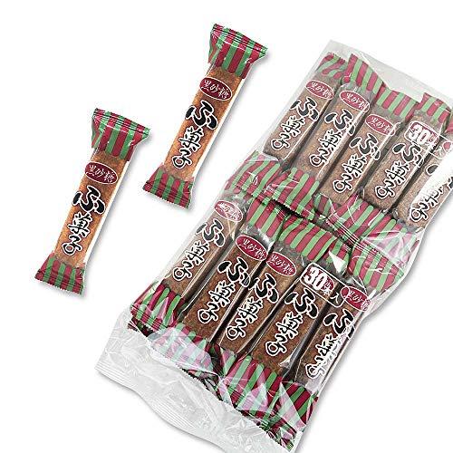 やおきん 黒砂糖 角ふ菓子 (30個入) 昔なつかし 麩菓子