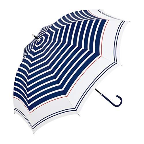 Vers en veelzijdig zeeman strepen lange handvat paraplu volledige staal ribben duurzaam